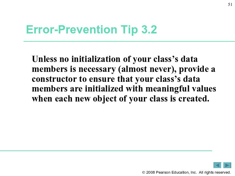 Error-Prevention Tip 3 2